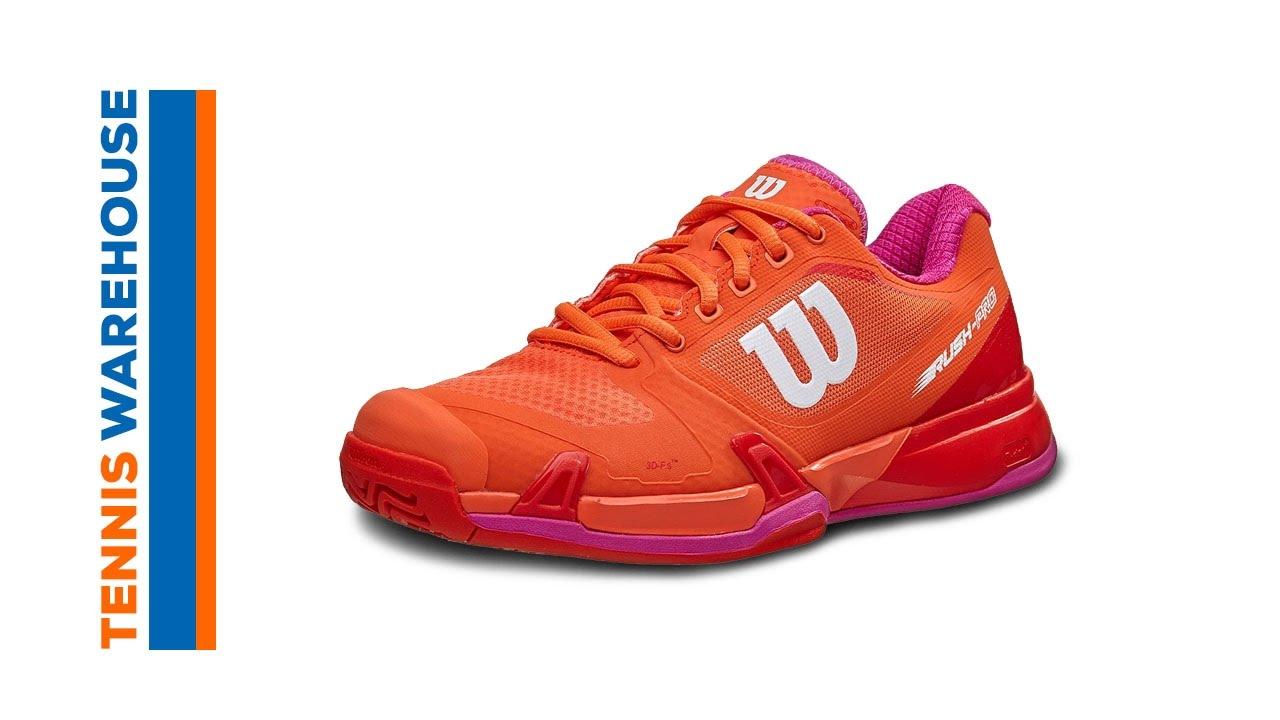 da331a6554e2f Wilson Rush Pro 2.5 2019 Navy/Pink Women's Shoe