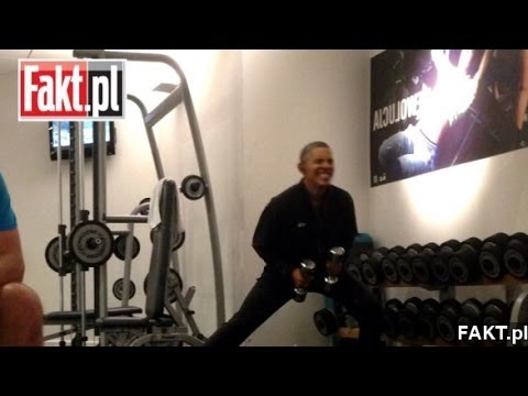 Obama's Workout Video Prompts Jokes And Security Concerns