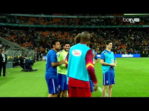South Africa Vs Brazil 0-5 Neymar Goal 3 - Friendly Match 05/03/14
