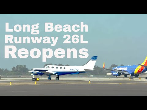 Long Beach Airport Celebrates the Reopening of Runway 26L