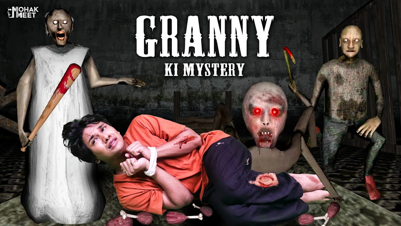 GRANNY KI MYSTERY SHORT FILM : ग्रैनी | HORROR GAME GRANNY : CHAPTER 2 - SLENDRINA || MOHAK MEET