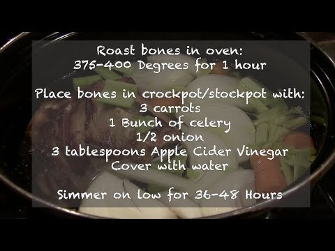 How-To Make Healing Bone Broth in Your Own Kitchen