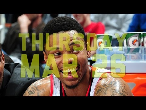 NBA Daily Show: Mar. 26 – The Starters