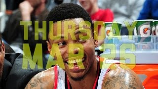 NBA: NBA Daily Show: Mar. 26 – The Starters