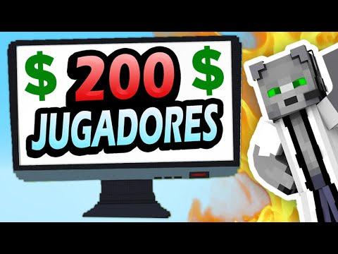 👉 Lo Que Construyas en Minecraft te lo COMPRO!!! 200 Jugadores
