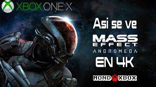 [4K] Asi se ve Mass Effect Andromeda en 4K en Xbox One X |MondoXbox