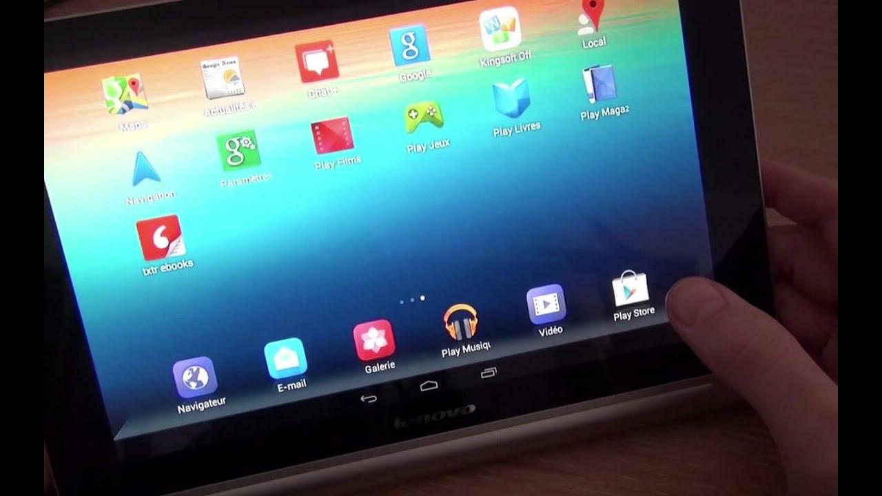 Test de la lenovo yoga tablet 10 une tablette de 10 - Tablette 10 pouces moins de 200 ...