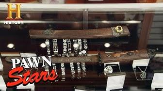 Pawn Stars: RISKY DEAL for RARE SAMURAI KNIFE (Season 17) | History