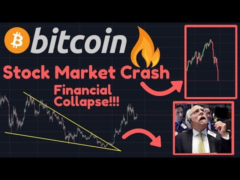 Bitcoin Correction!! | Stock Market Crash! | Global Financial Collapse IMMINENT!