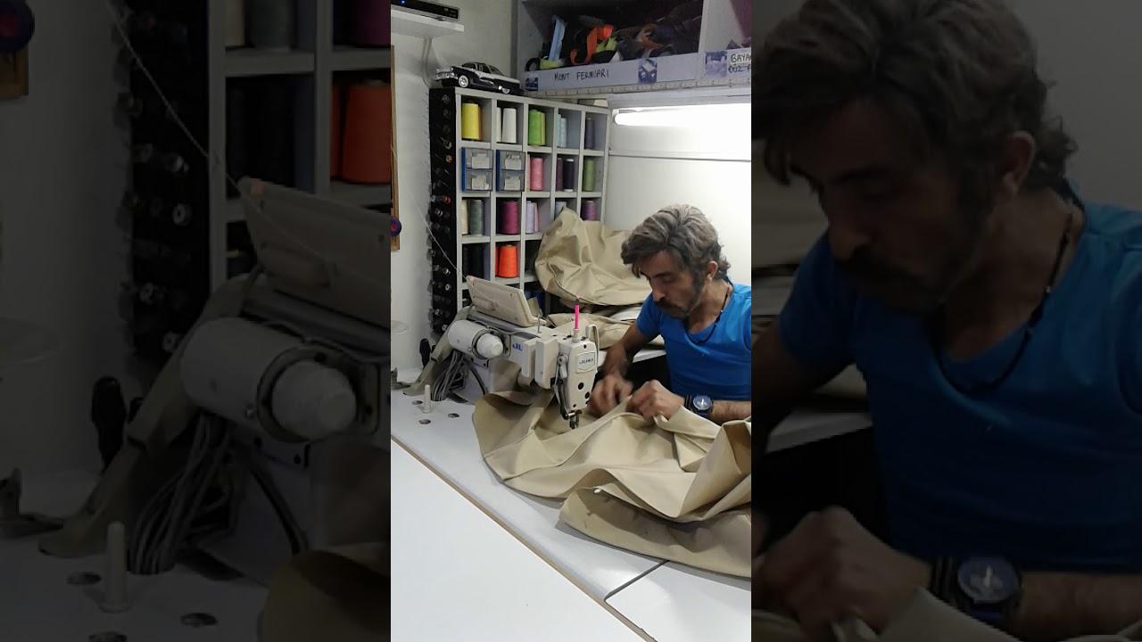 Minder Nasil Dikilir Minderci Murat Istediginiz Renkte Ve Olcude Minder Siparisi Aliyoruz Youtube