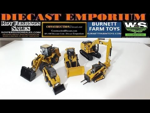 Diecast Masters Caterpillar 1/64 Scale Models