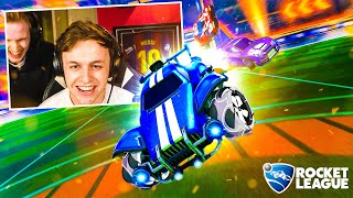 Matthy & Raoul vs Koen & Robbie op ROCKET LEAGUE!