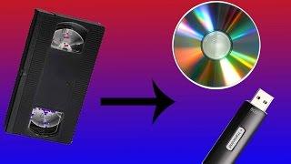 Как оцифровать видеокассету? Самый простой способ