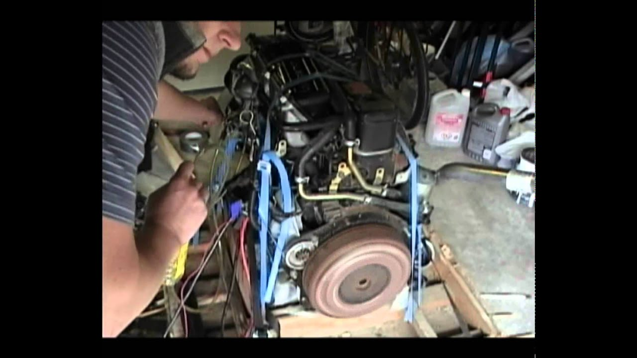 Isuzu Diesel Engine Motor 4ja1 2 5l Bench Test Youtube