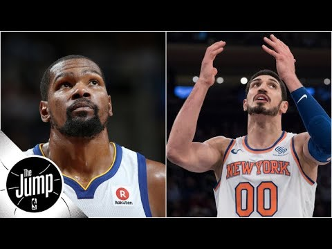 Could Kevin Durant actually join the Knicks in 2019? | The Jump | ESPN