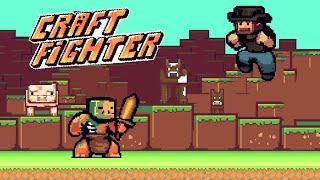 CraftFighter - Гибрид майнкрафта и файтинга