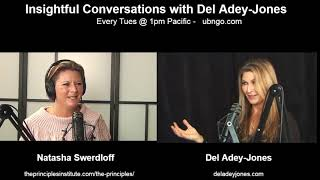 Natasha Swerdloff on Insightful Conversations with Del Adey-Jones 02:21:19