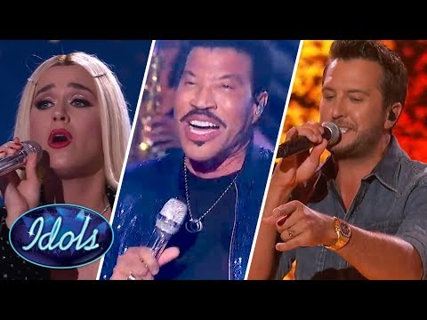 Katy Perry, Lionel Richie & Luke Bryan SING LIVE ON American Idol 2018 | Idols Global