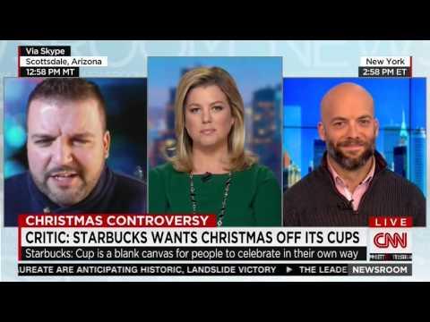 "Evangelical activist behind the ""Starbucks Hates Jesus"" campaign gets destroyed on CNN"