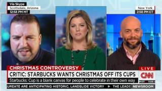 Some Dude Josh Feuerstein Goes Full Bonkers on CNN over Starbucks Cups