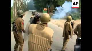 Sporadic clashes continue despite curfew