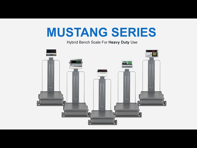 Mustang Series, Timbangan Duduk Heavy Duty