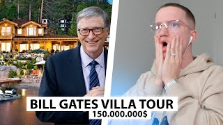 Justin reagiert auf Bill Gates' 150.000.000$ Luxusvilla.. | Reaktion