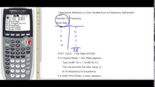 Gambar cover Descriptive Statistics on One Variable from a Frequency Distribution