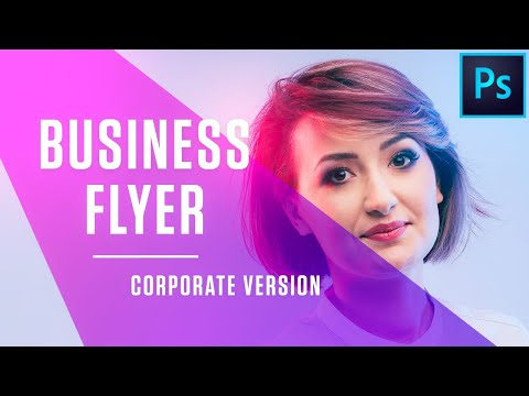 How To Design Business Flyer In Photoshop   In- Depth Tutorial   Free Flyer Template   PE63 thumbnail