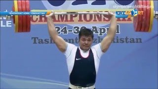 2016 Asian and European Weightlifting Best Lifts, Men 94 kg