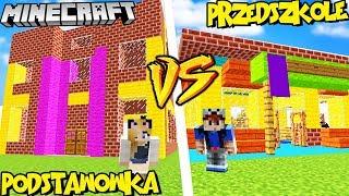 KINDERGARTEN VS BASICS IN MINECRAFT! (School vs School) | Vito vs Bella