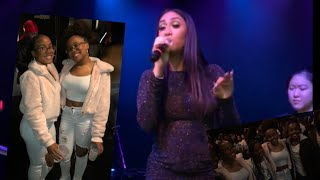 QUEEN NAIJA CONCERT ( CLARENCE TOUCH MY HAND!!)