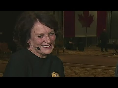 Margaret Trudeau on victory: