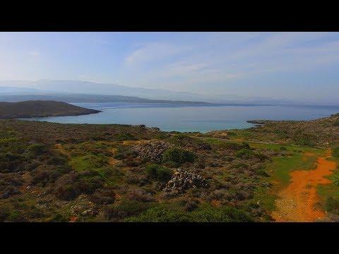 Seaside plot of land for sale in Akrotiri, Crete