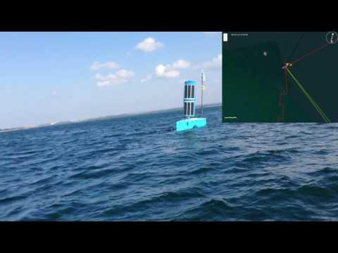 USV 'Bruce'  Avoiding Collisions on Botany Bay