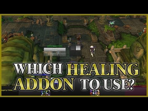 World of Warcraft Healing Addons (Default, Grid, Healbot, VuhDo)