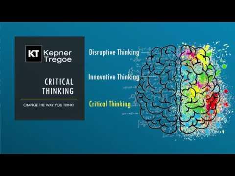critical thinking kepner tregoe