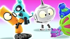 THE SPACE CAT | Rob The Robot Show | Cartoons For Children | Vidavoo