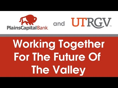 UTRGV - PlainsCapital Bank Press Conference, Edinburg, Texas