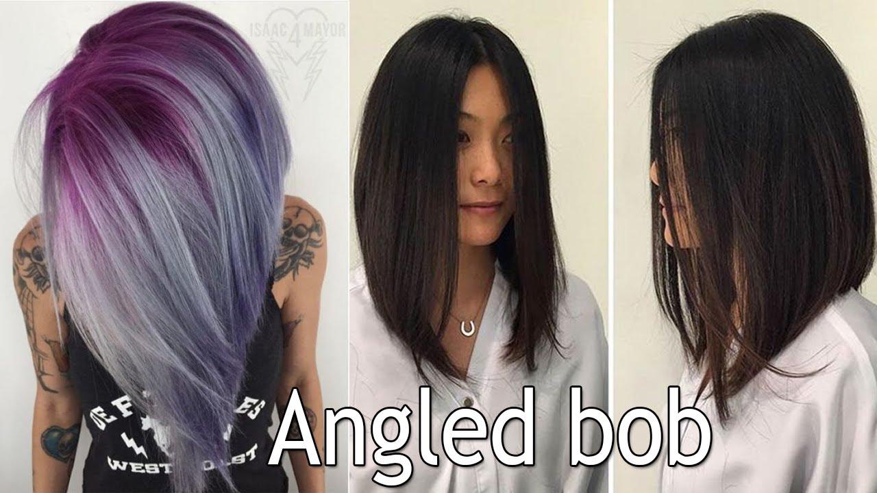 long angled bob haircut! long bob haircuts for women i angled haircuts