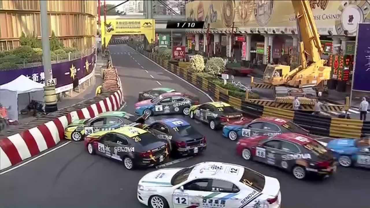 有線全程直播第62屆澳門格蘭披治大賽車 - YouTube