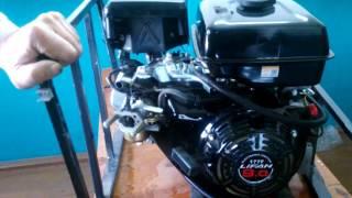 видео Двигатель Lifan 177F 9.0 л. с.