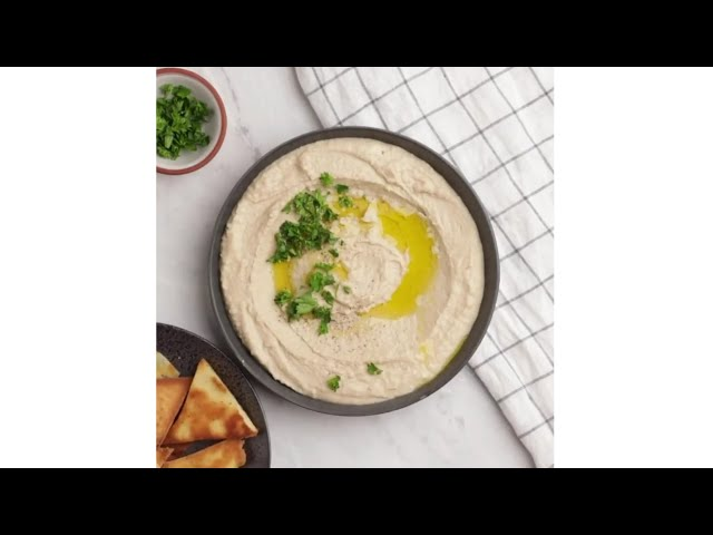 How to make Hummus made with white beans