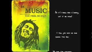 Bob Marley - Africa Unite (lyrics)