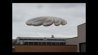 НЛО  над аэропортом в Китае. Реальные кадры c  борта самолёта.  Док. фильм.