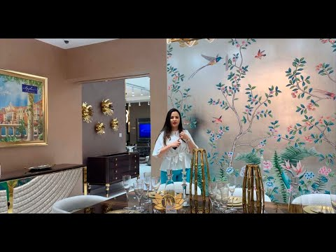 Furniture Shops in Dubai. KA Showroom. Light, Carpets, Curtains, Home Decor