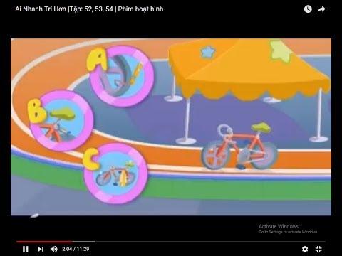 Ai Nhanh Trí Hơn  Tập: 52, 53, 54   Phim hoạt hình