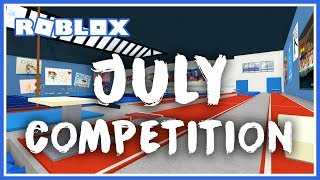 4:00pm July 2019 Competition - Roblox Gymnastics