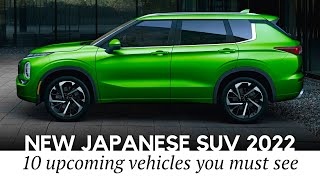 10 Upcoming Japanese SUVs of 2022 (Guide to All Interior and Exterior Updates)