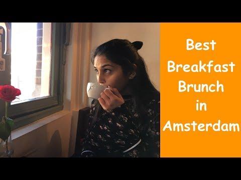 Best restaurant to eat in Amsterdam Vegan restaurant Vlog